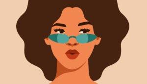 sonnenbrille fuers eckige gesicht